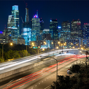 Vue32 luxury apartments located in Philadelphia, give residents the ability to enjoy Philadelphia night life.